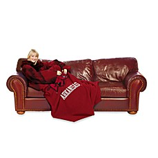 University of Arkansas Comfy Throw™ with Sleeves