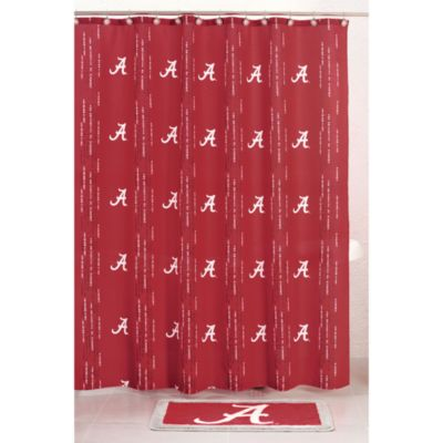 University of Alabama 71-Inch x 71-Inch Shower Curtain