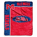 University of Mississippi Raschel Throw