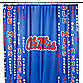 University of Mississippi 71-Inch x 71-Inch Shower Curtain