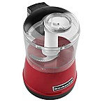 KitchenAid® 3.5 Cup Food Chopper in Red