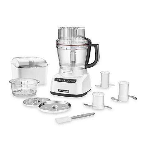 Buy Kitchenaid 174 13 Cup Food Processor In White From Bed