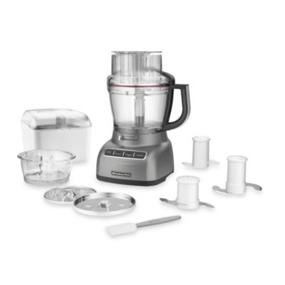 KitchenAid® 13- Cup Food Processor in Contour Silver