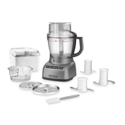 KitchenAid® 13- Cup Food Processor in Contour Silver