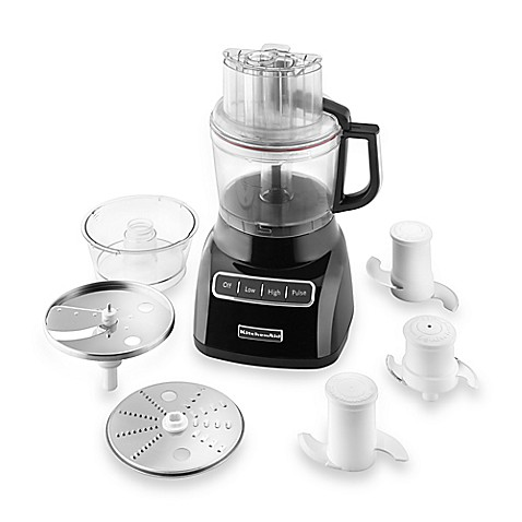 Buy Kitchenaid 174 9 Cup Food Processor In Black From Bed