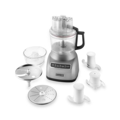 KitchenAid® 9-Cup Food Processor in Silver
