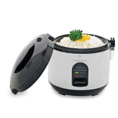 Wolfgang Puck 10-Cup Rice Cooker with Removable Lid