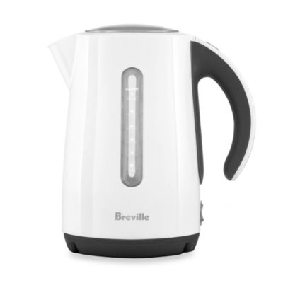 Breville® The Soft Top Cordless Electric Kettle in White