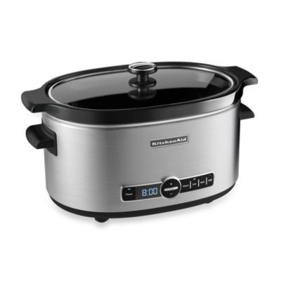 KitchenAid® 6Quart Slow Cooker with Glass Lid