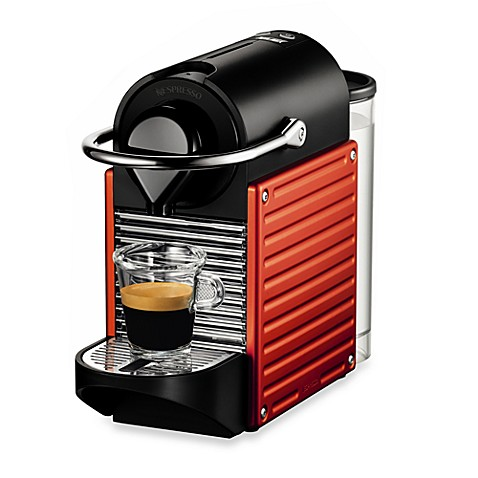 Nespresso® Pixie Espresso Machine in Electric Red