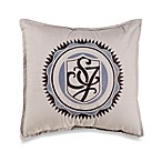Sean John Ibiza 18-Inch Square Logo Toss Pillow