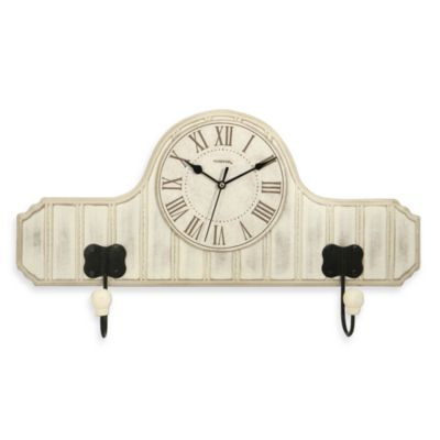 Bead Board Hook Clock