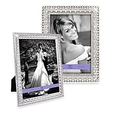 Arte de Casa Pewter Frame with Sunburst Crystals