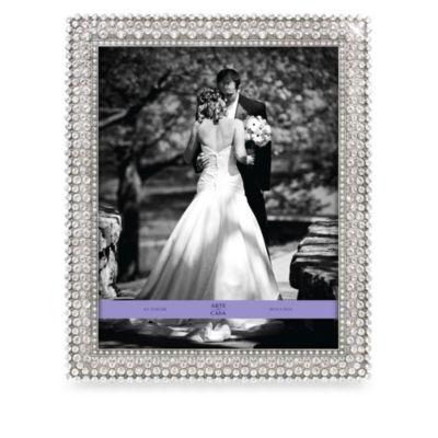 Arte de Casa Pewter 8-Inch x 10-Inch Frame