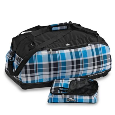 High Sierra® Pack N' Go 30-Inch Duffel in Plaid