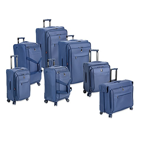 delsey helium x 39 pert lite 3 0 luggage in blue bed bath beyond. Black Bedroom Furniture Sets. Home Design Ideas