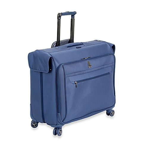delsey helium x 39 pert lite 3 0 garment bag in blue bed bath beyond. Black Bedroom Furniture Sets. Home Design Ideas