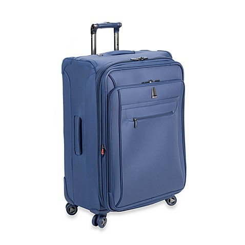 delsey helium x 39 pert lite 3 0 25 inch expandable suiter trolley in blue bed bath beyond. Black Bedroom Furniture Sets. Home Design Ideas