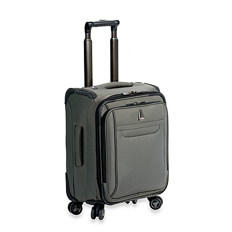 delsey helium x footpert lite 3 0 personal trolley tote in grey bed bath beyond. Black Bedroom Furniture Sets. Home Design Ideas