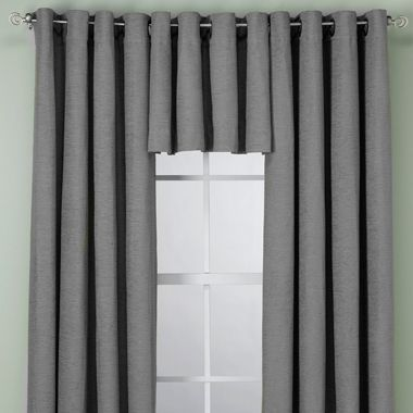 Union Square Valance in Platinum