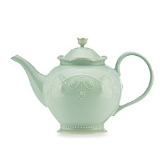 Lenox® French Perle Teapot in Ice Blue