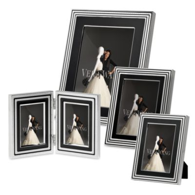 Vera Wang Wedgwood® with Love Noir 5-Inch x 7-Inch Frame