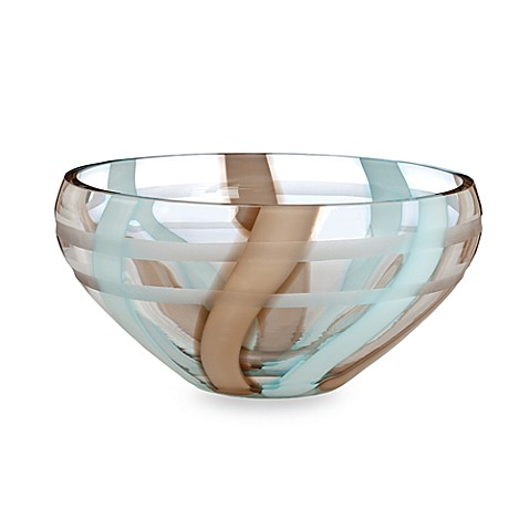 Evolution by Waterford® Espresso Swirl 10-Inch Crystal Bowl