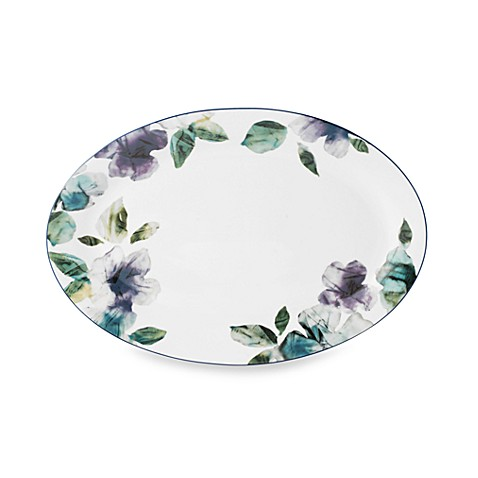 Mikasa® Paradise Bloom 14-Inch Oval Platter