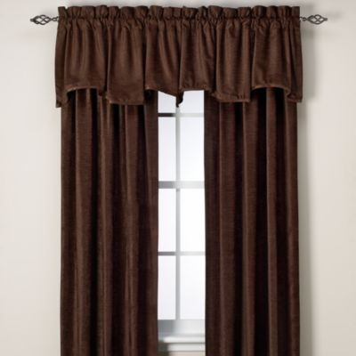 J. Queen Glenwood Chenille Window Curtain Panel