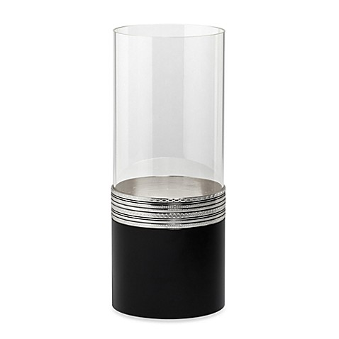 Vera Wang Wedgwood® with Love Noir 11 3/4-Inch Hurricane Candleholder