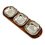 Wilton Armetale® 4 1/4-Inch Bowls with Serving Tray