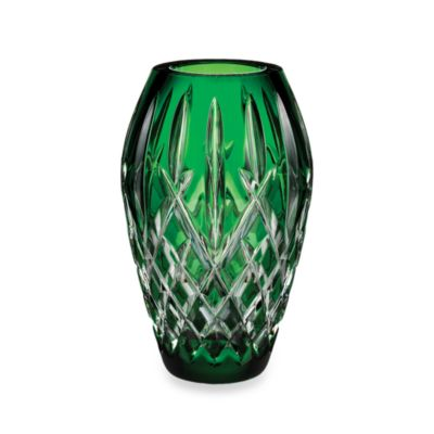 Waterford® Crystal Araglin Prestige Emerald Green 7-Inch Vase