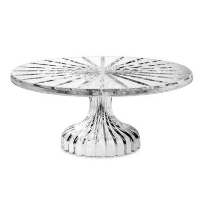 Marquis® by Waterford Bezel 11-Inch H Footed Cake Plate