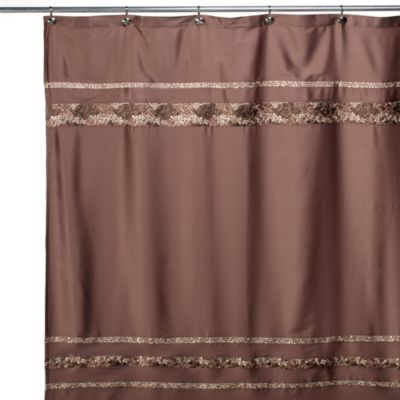 Mosaic Tile 54-Inch x 78-Inch Fabric Stall Shower Curtain