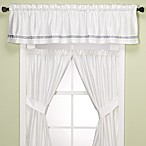 Spa Tile Bathroom Window Valance