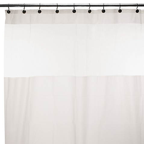 "Hitchcock 108"" W x 72"" L EVA Shower Curtain"
