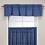 Logan Tailored Valance in Blue