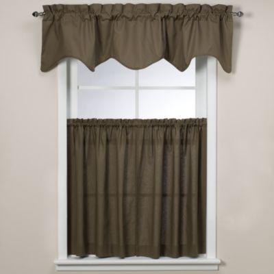 Window Curtain Tier Pair