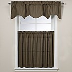 Logan Window Curtain Tiers, 100% Cotton - Green