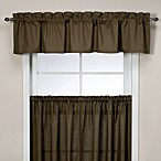 Logan Tailored Valance in Green