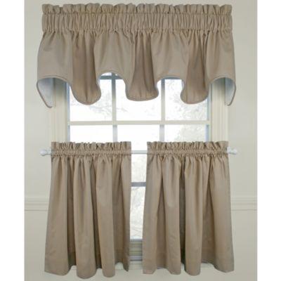 Logan Linen Window Curtain Tier Pair