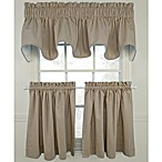 Logan Linen Window Curtain Tier Pair