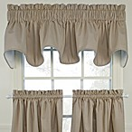 Logan Scallop Valance in Linen
