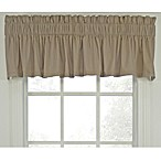 Logan Tailored Valance in Linen