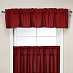 Logan Tailored Valance in Red