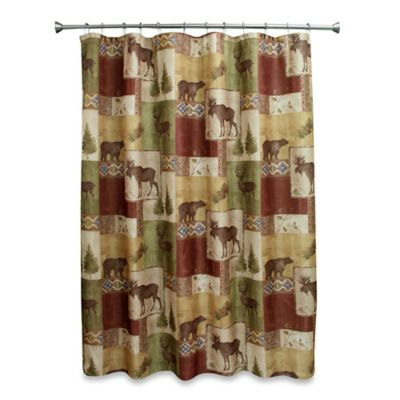 Mountain Lodge 70-Inch W x 72-Inch L Shower Curtain