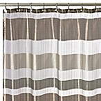 Metallic Stripe 72-Inch x 72-Inch Shower Curtain