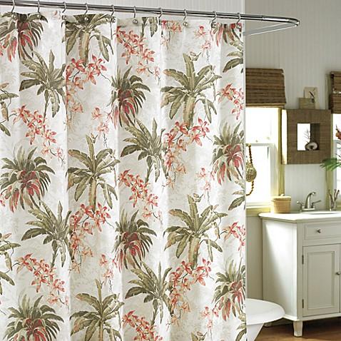 Tommy Bahama Bonny Cove Fabric Shower Curtain Bed Bath Beyond