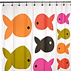 Fish Safari PEVA 70-Inch W x 72-Inch L Shower Curtain