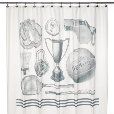 Sport 72-Inch x 72-Inch Shower Curtain